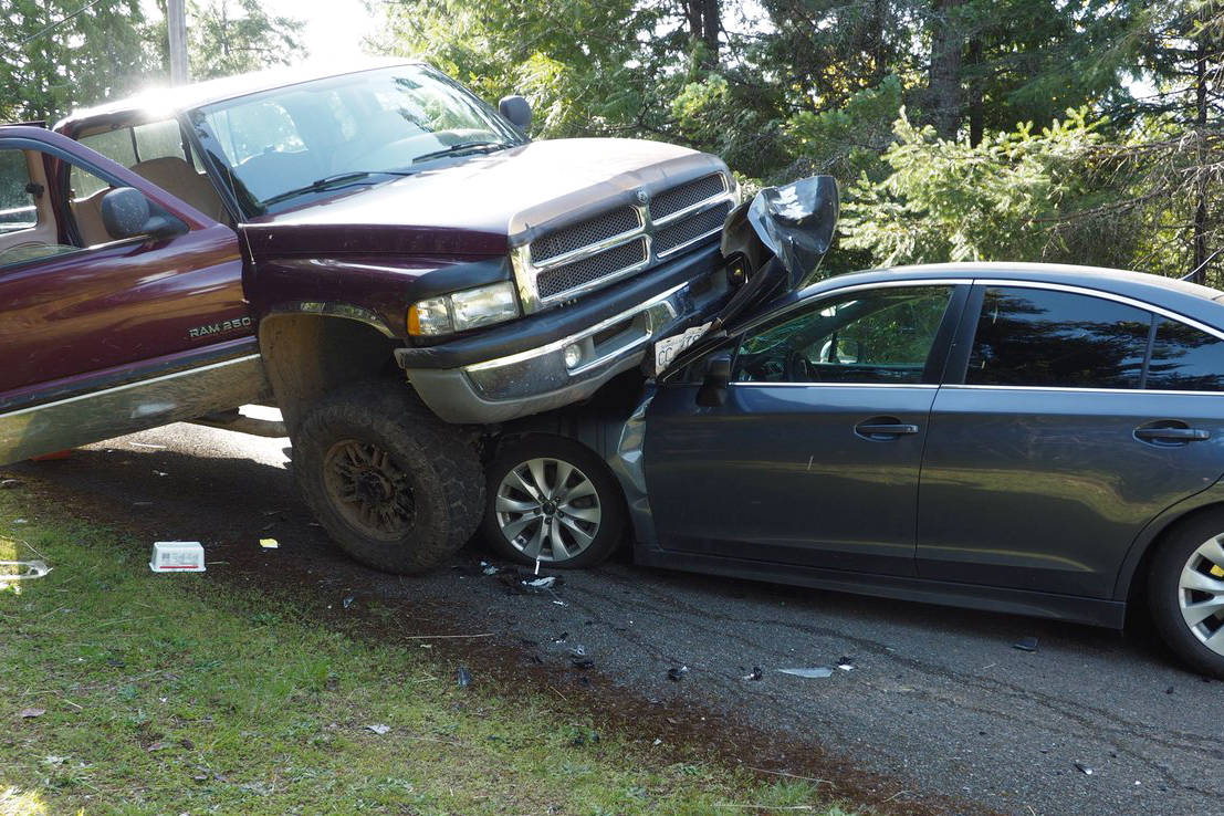 arrests made after truck crashes into unmarked police cars in