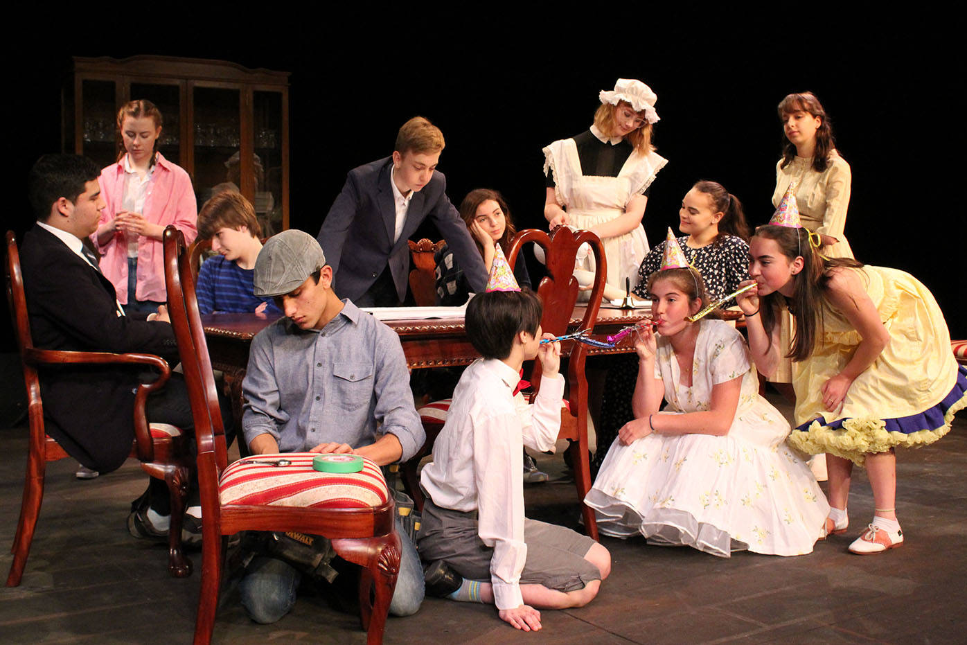 Dining Room Asks Claremont Play, The Dining Room Play
