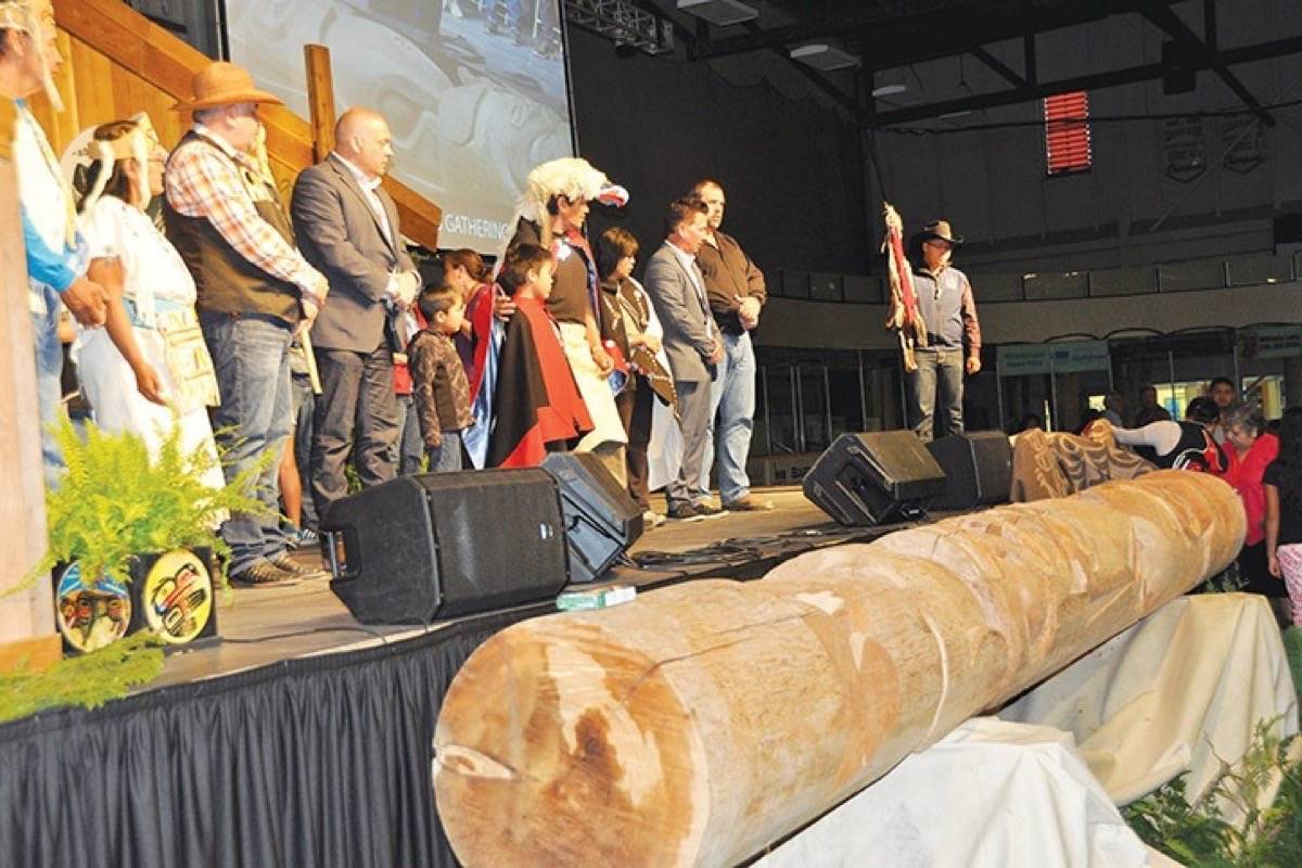 B C  First Nation refuses totem pole gift from fellow nation