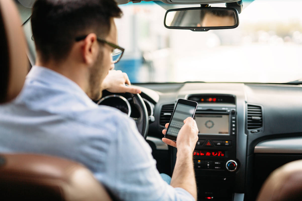 Image result for using phone while driving