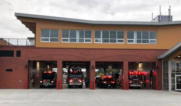 Sidney Fire the first to move into new community safety building