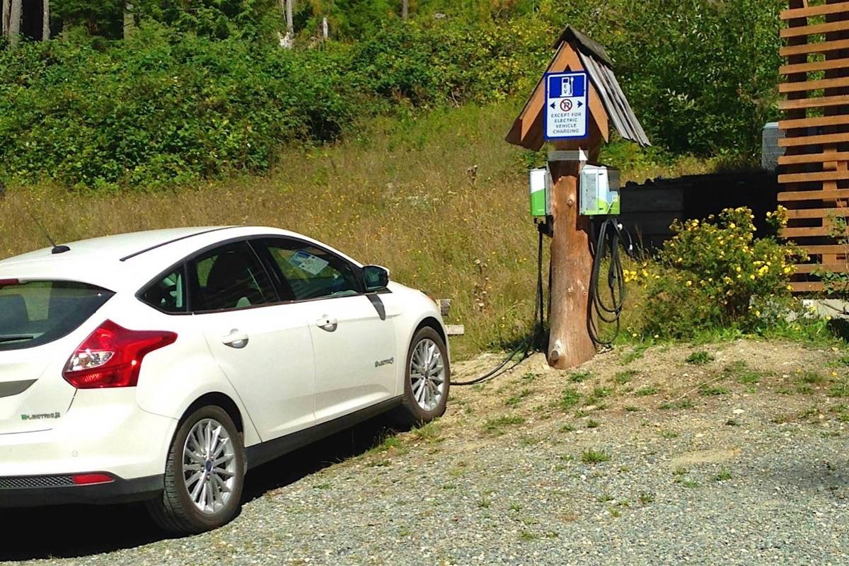 B C  adding fast-charge stations for electric highway trips