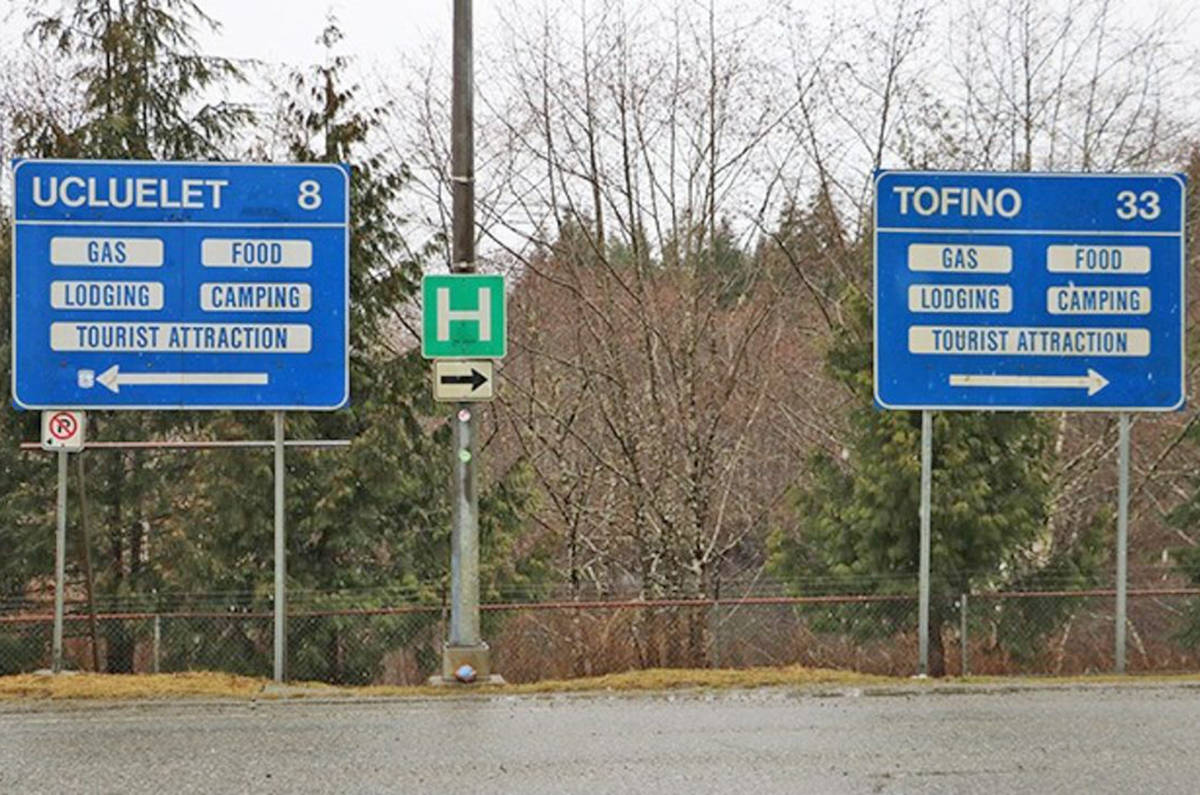 UPDATED: Hwy  4 between Tofino-Ucluelet and the rest of