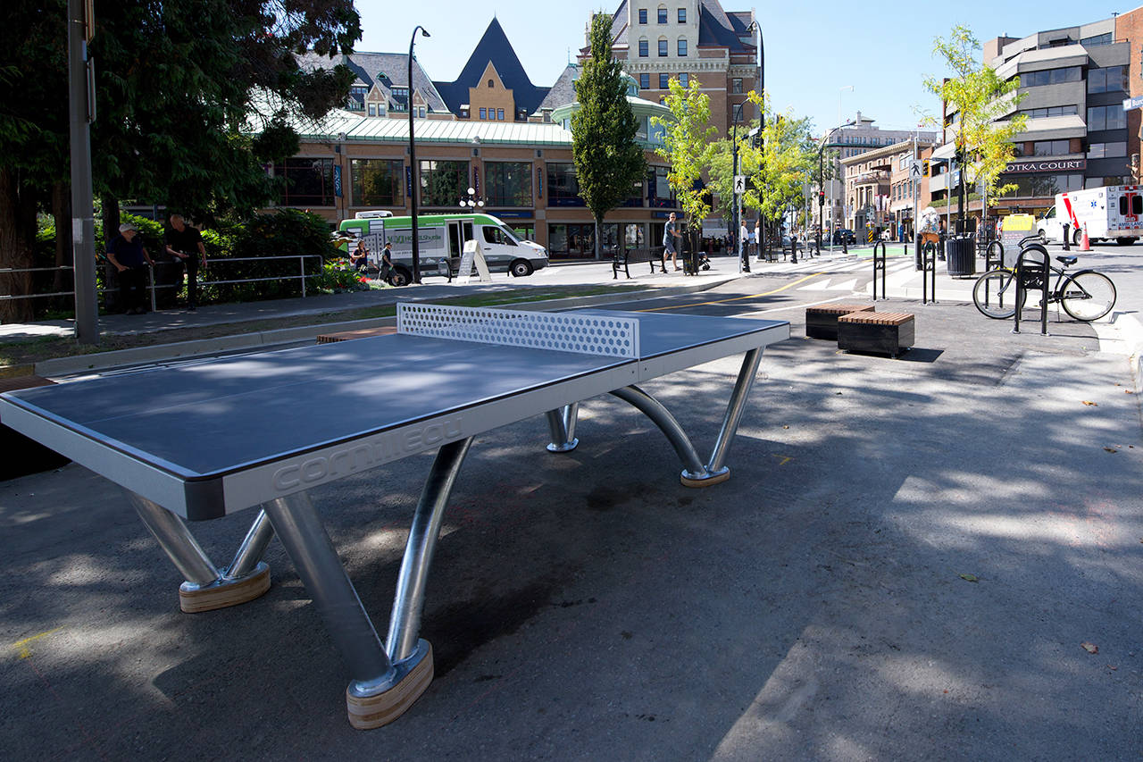Taxpayers question cost of new public ping pong table in