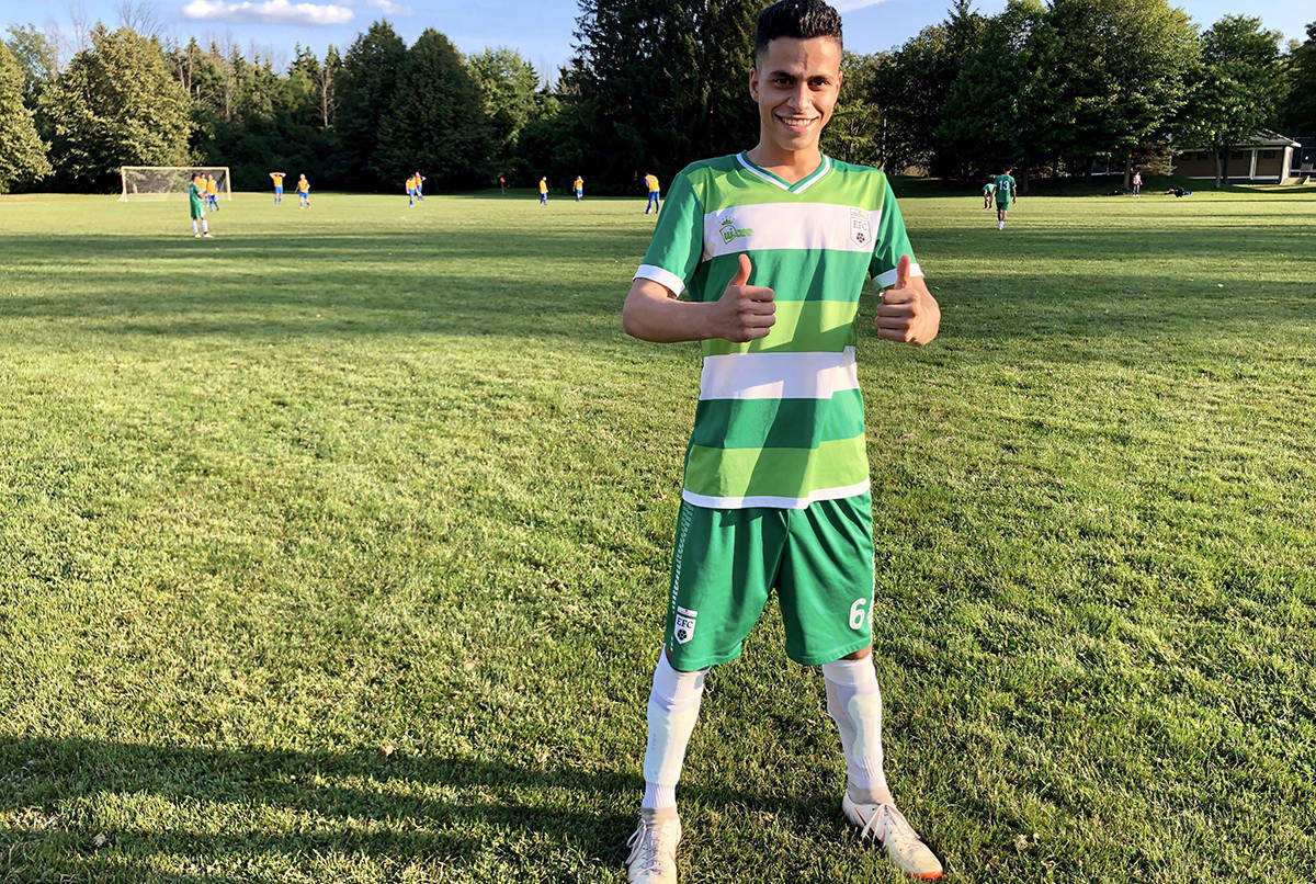 For recent immigrant youngsters, Canadian soccer club
