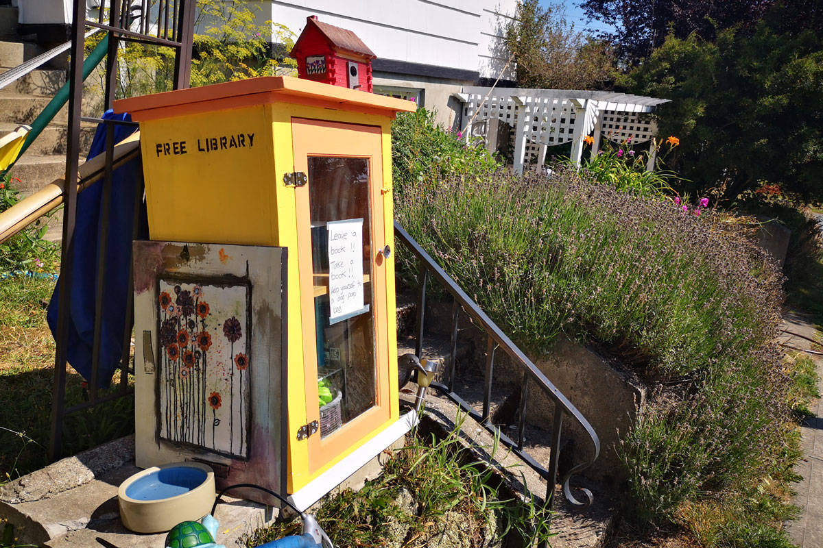 250th Free Little Library installed in Victoria