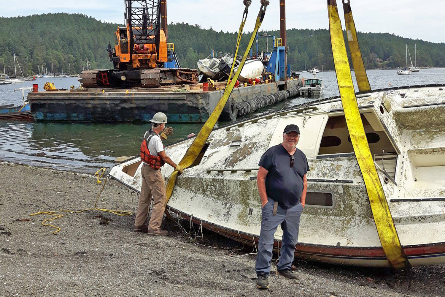 Dead Boats Society moving towards 100 wreckages removed from the Salish Sea