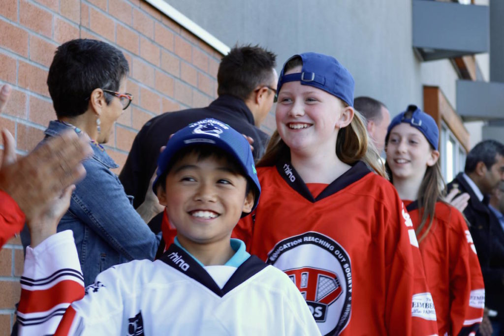 New charity brings ice hockey to underprivileged kids in Greater Victoria