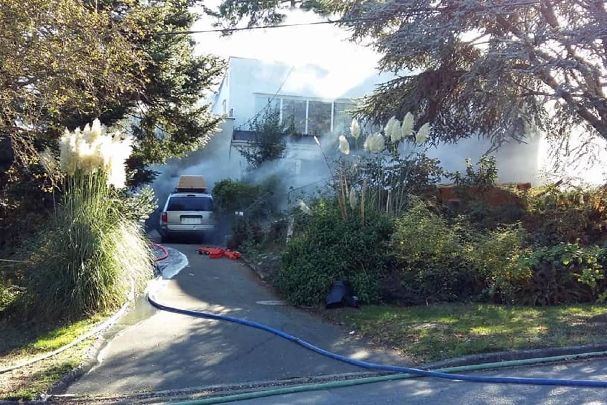 Guilty verdict for man accused of setting fire to his Esquimalt rental property