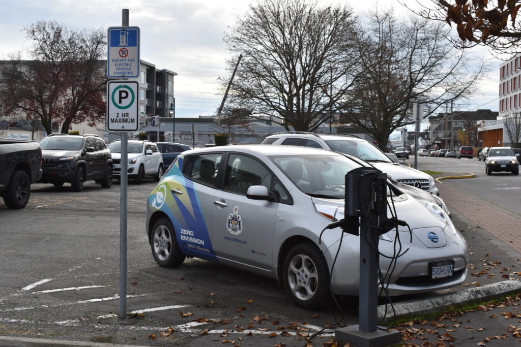 Sidney considers turning over public charging stations to private company - Victoria News