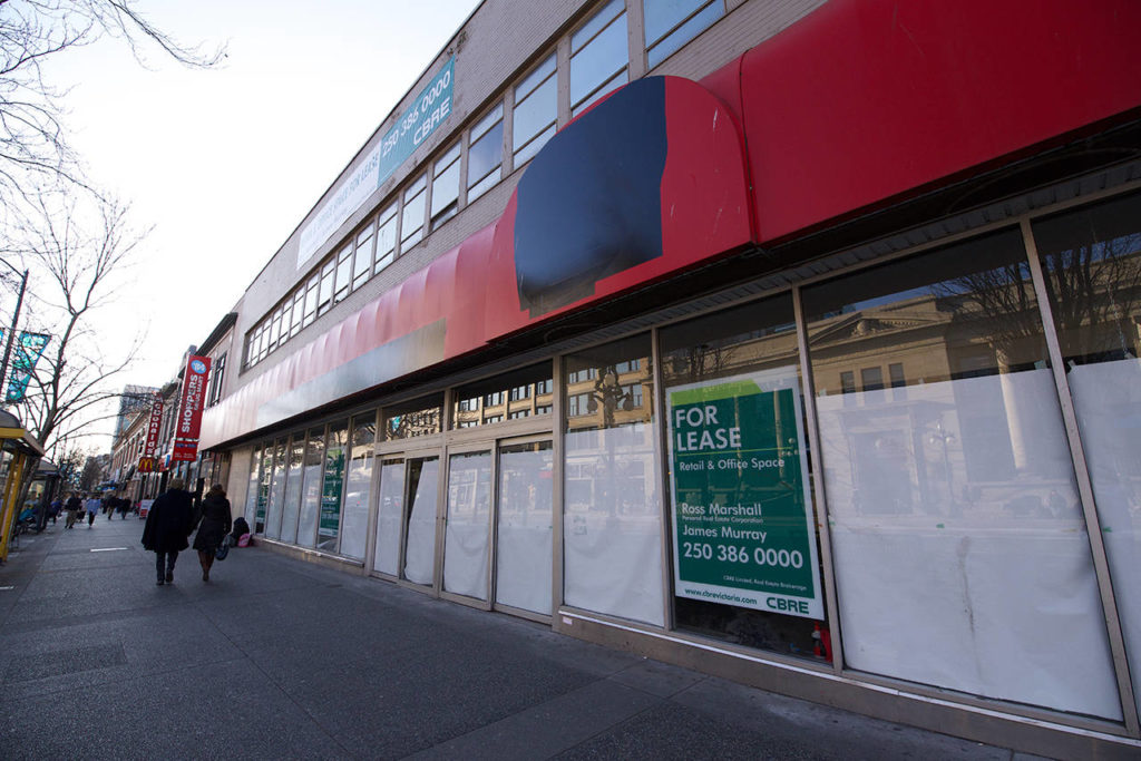 New tenant announced for former downtown Victoria Shoppers Drug Mart