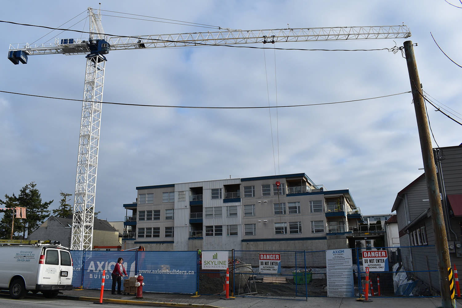 Housing starts, value of building permits down across Greater Victoria