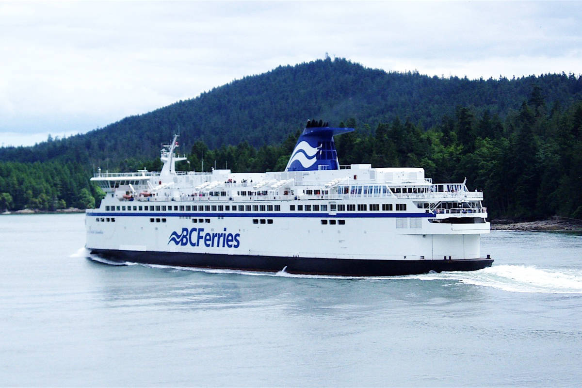 Covid 19 Bc Ferries Passengers Can Self Isolate On Upper Vehicle Decks Only Victoria News