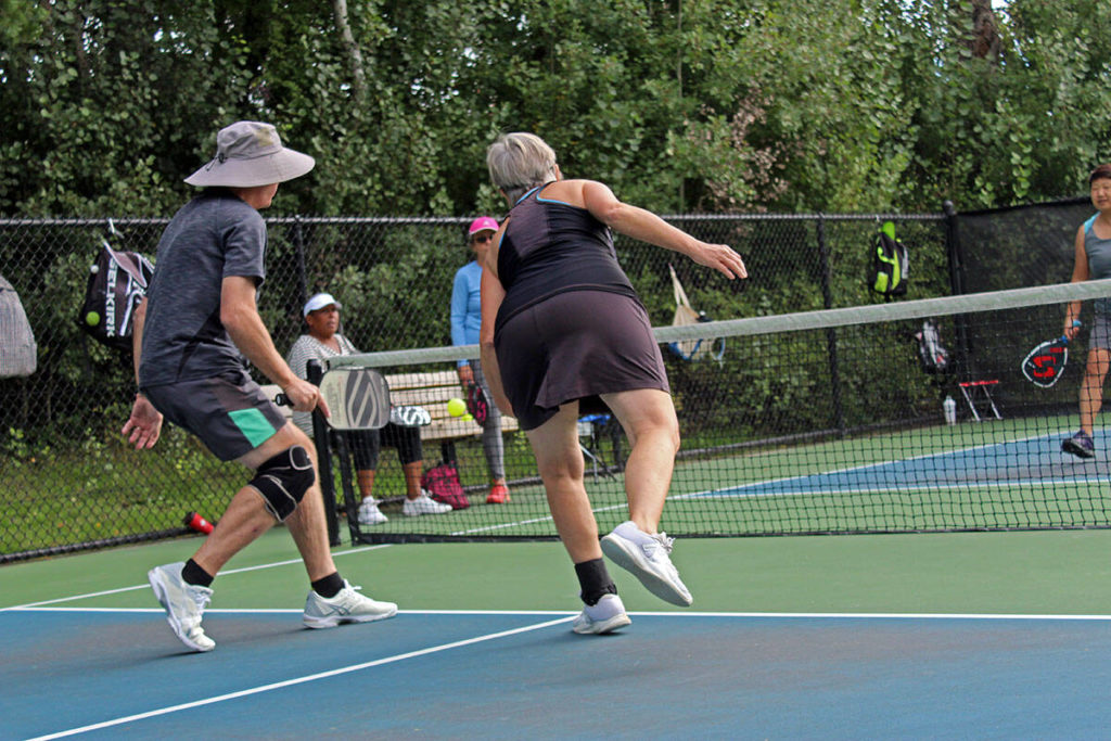 Saanich in a pickle with Tolmie Park pickleball courts – Victoria News
